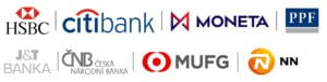 Reference klientů - bankovní domy